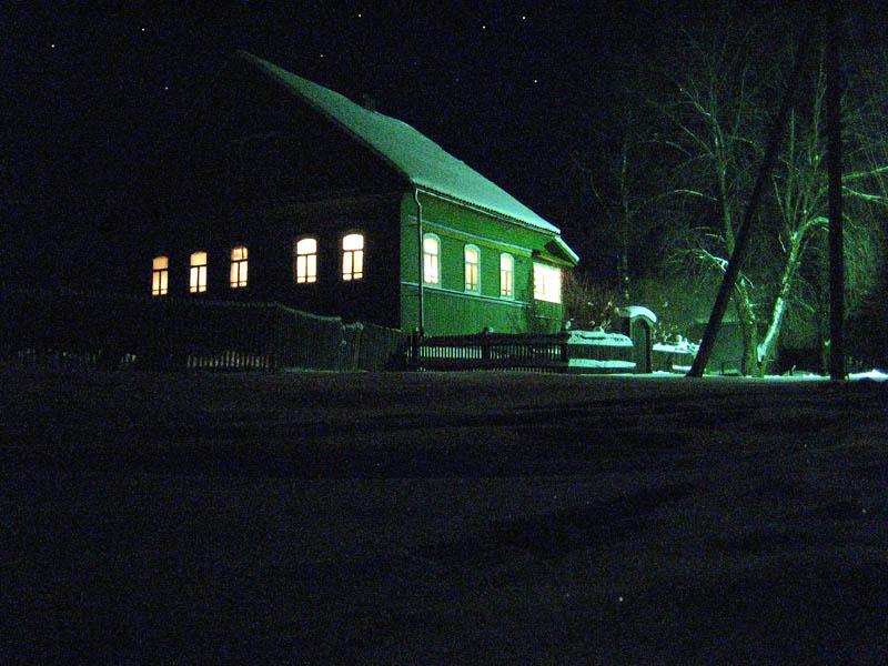 """фото """"Полон дом гостей."""" метки: пейзаж, ночь"""