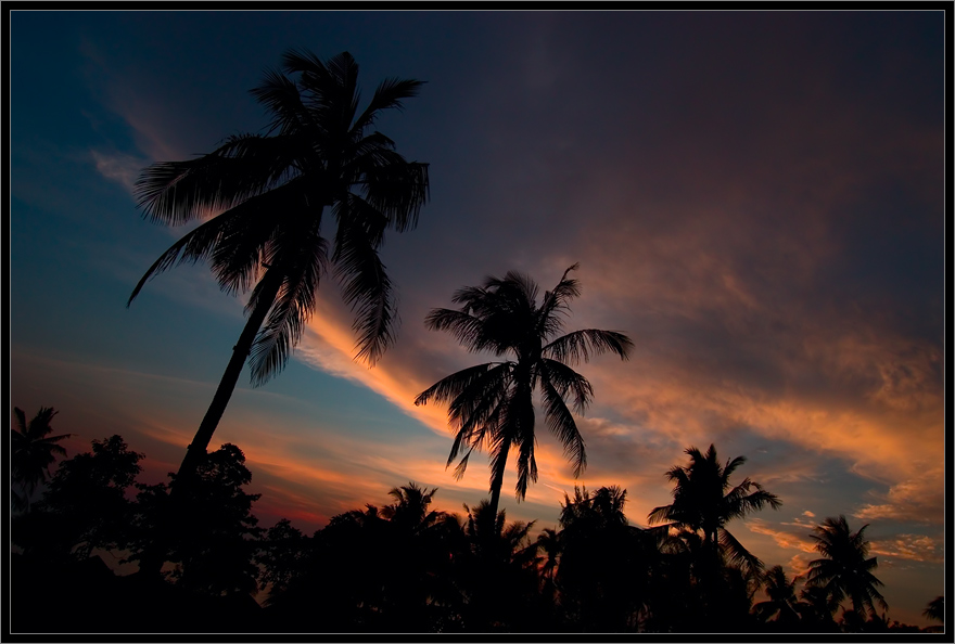 "фото ""...In the sky"" метки: пейзаж, закат, ночь"