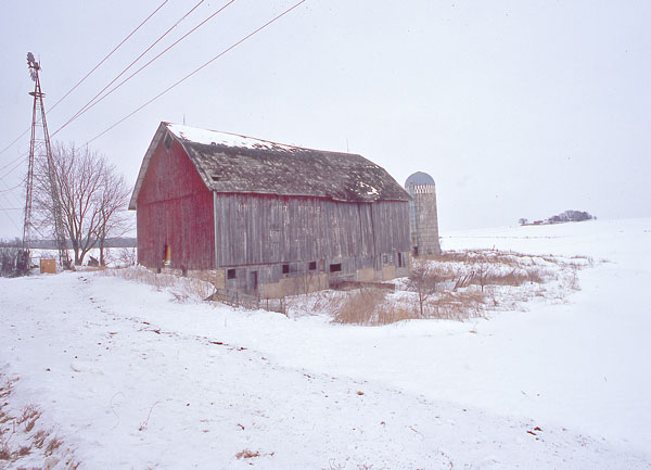"photo ""Poem Barn"" tags: landscape, winter"