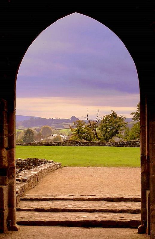 "photo ""Window on Wales"" tags: landscape, summer"