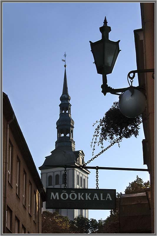 "photo ""Old Tallinn"" tags: architecture, travel, landscape,"