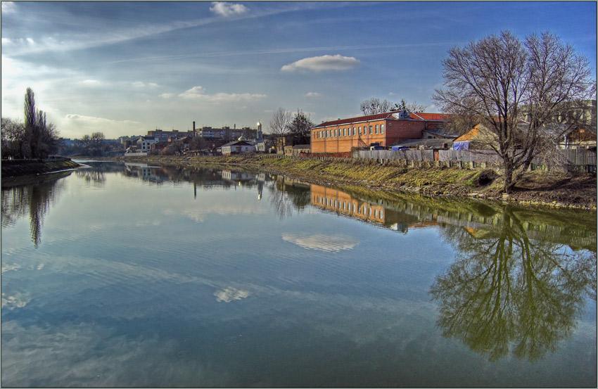 """фото """"Весна, день восьмой, женский"""" метки: пейзаж, архитектура, вода"""