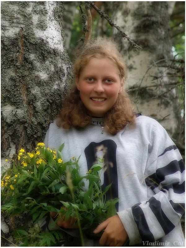 """фото """"Девчонка с земли новгородской... (2)"""" метки: портрет, женщина"""