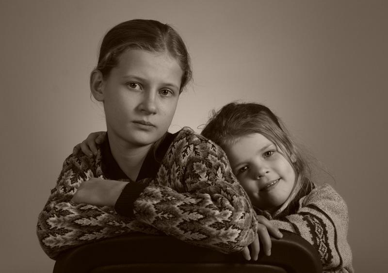 "фото ""Дочери"" метки: портрет, дети"