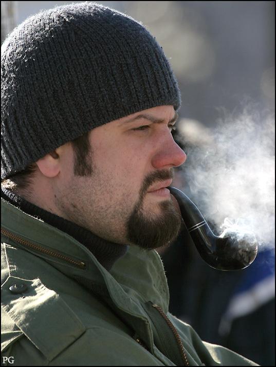 """фото """"портрет человека с курительной трубкой"""" метки: портрет, мужчина"""