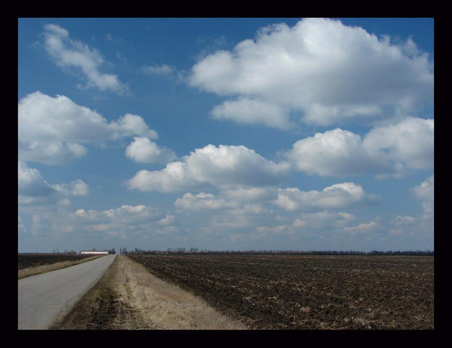 "фото ""Дорога к облакам"" метки: пейзаж, облака"