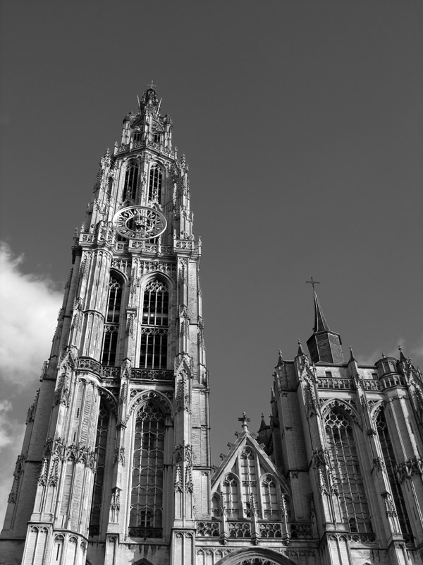 "photo ""Belgium.Antverpen. Town Hall."" tags: architecture, landscape,"