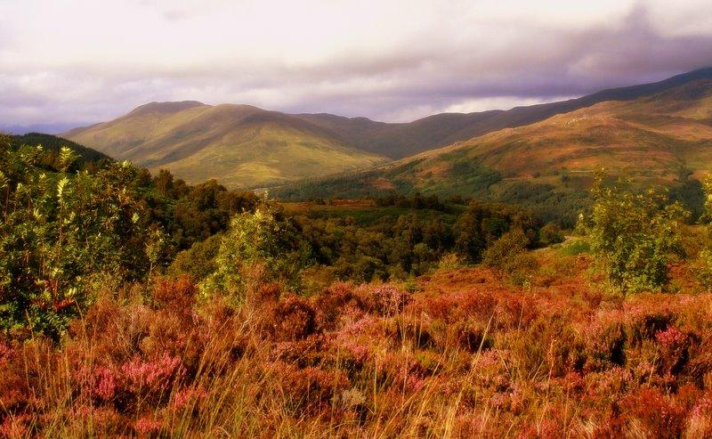 """photo """"The Trossachs, Scotland"""" tags: landscape, mountains"""