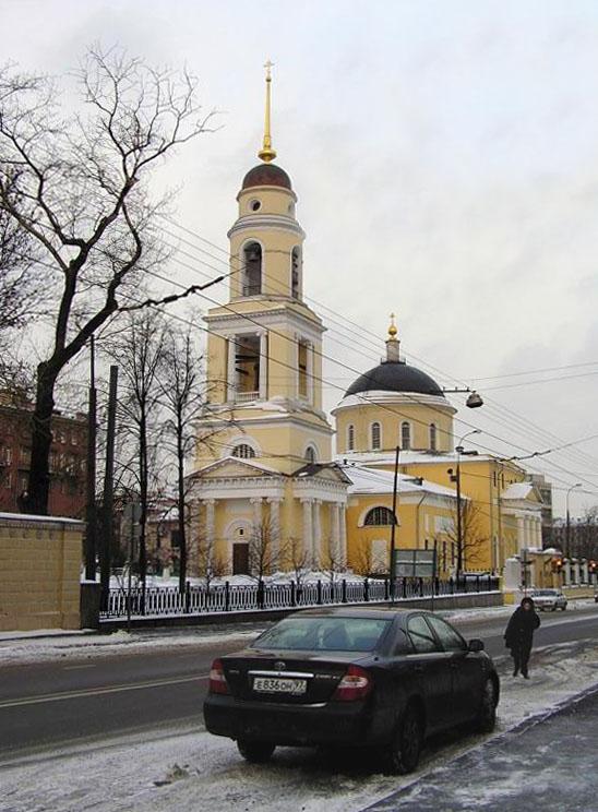 """фото """"Московский март."""" метки: архитектура, пейзаж, зима"""