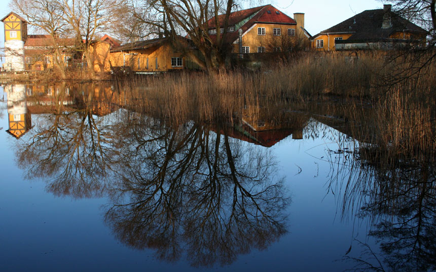 "photo ""Evening"" tags: landscape, spring, water"