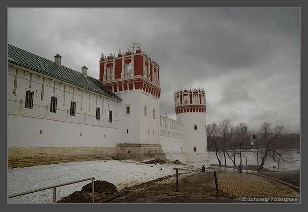 """фото """"Новодевичий монастырь"""" метки: архитектура, пейзаж,"""