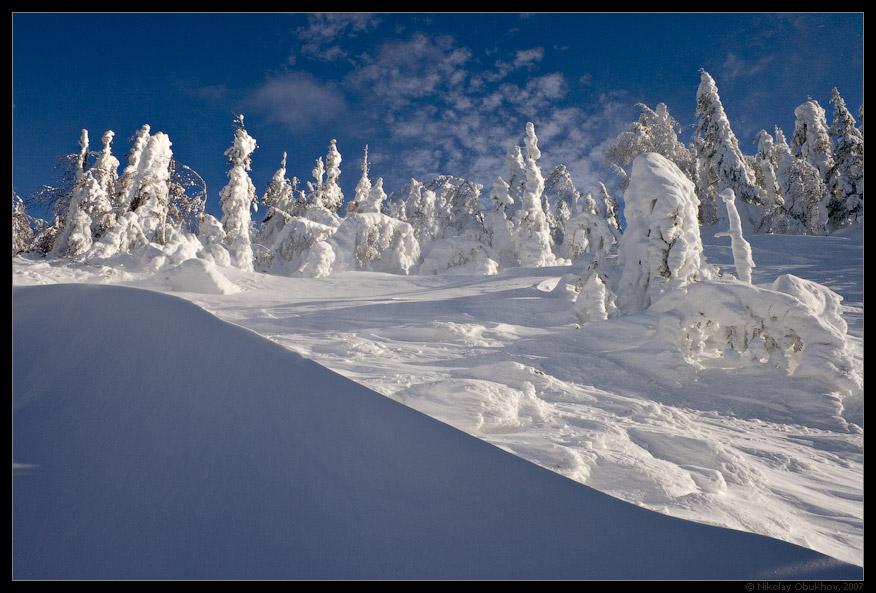 """фото """"Deep Blue / 167_0084"""" метки: пейзаж, горы, зима"""