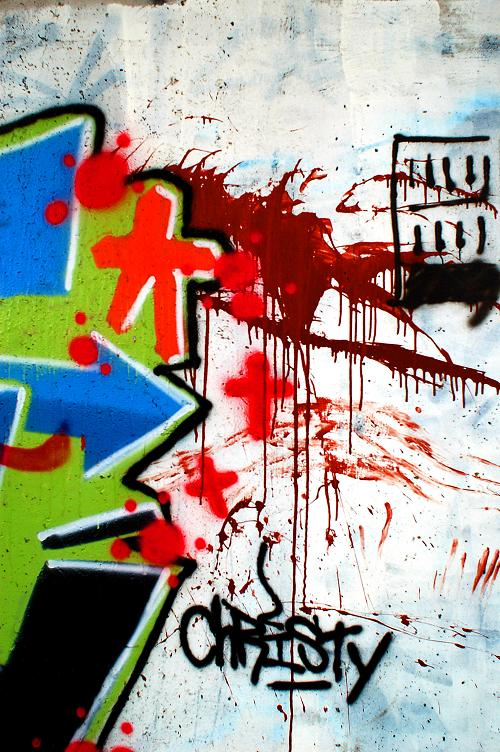 "photo ""Graff 1"" tags: abstract,"