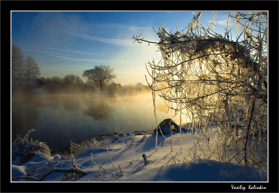 "фото ""Шаманские пляски...."" метки: пейзаж, зима"