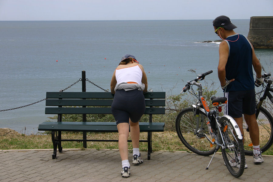 "photo ""The Portuguese love bikes 14/38"" tags: travel, Europe"