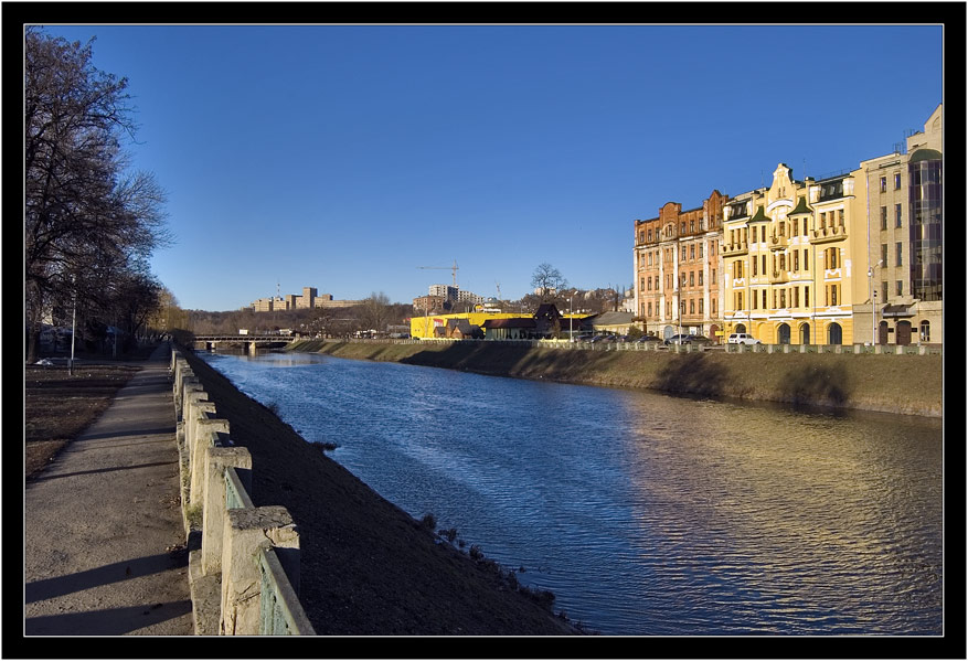"photo ""The river Kharkov"" tags: landscape, architecture, water"