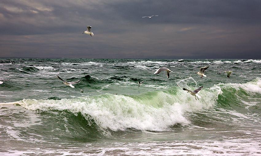 "фото ""Штормовое..."" метки: пейзаж, вода"