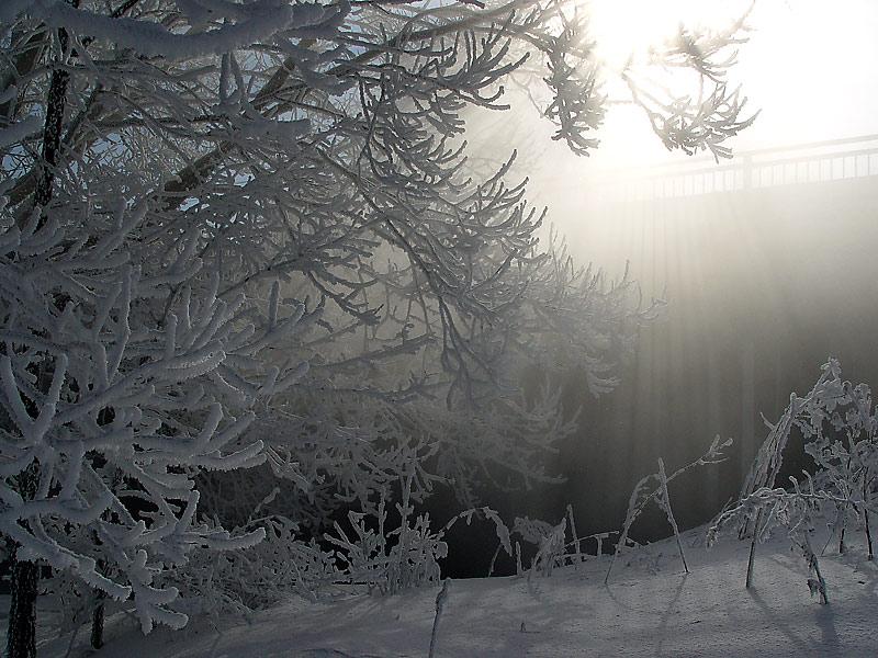 """фото """"У моста."""" метки: пейзаж, зима"""