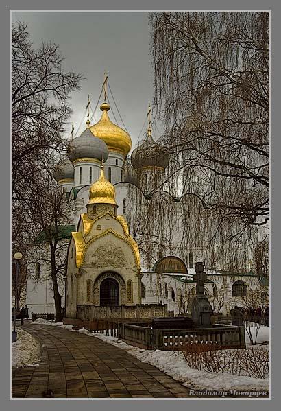 """фото """"Новодевичий монастырь 2"""" метки: архитектура, пейзаж,"""