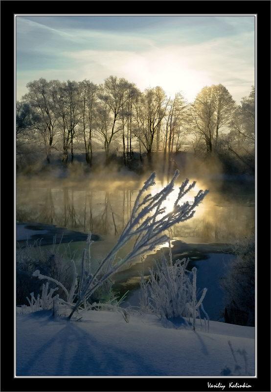 """фото """"Противостояние-2"""" метки: пейзаж, зима"""