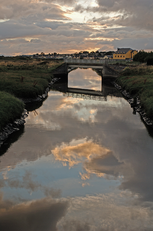 "photo ""Sunset in Tralee"" tags: landscape, clouds, sunset"