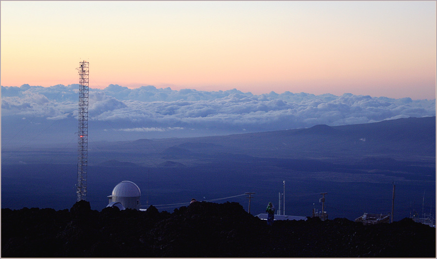 "photo ""Colors of Mauna Loa"" tags: landscape, mountains, sunset"