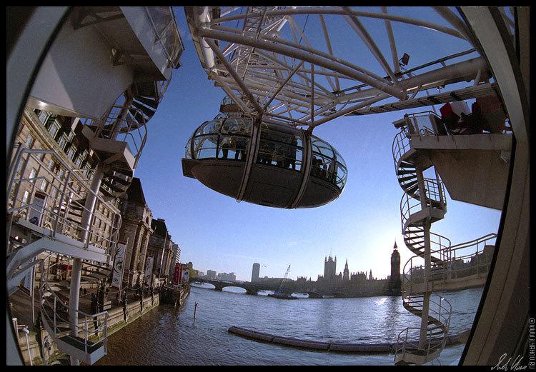 "фото ""London Eye / #2"" метки: путешествия, архитектура, пейзаж, Европа"