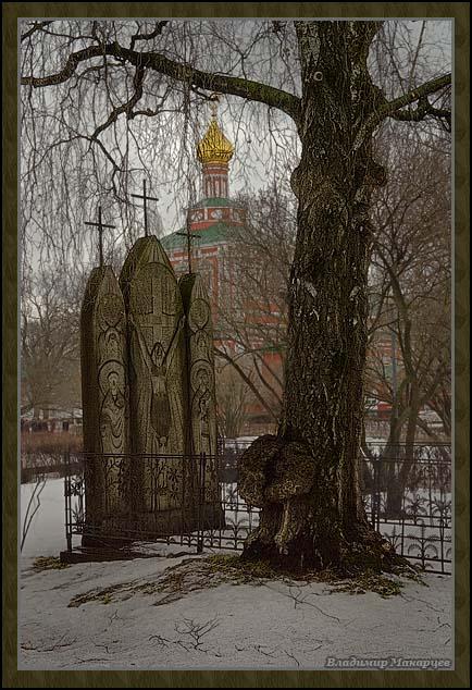 """фото """"Новодевичий монастырь 3"""" метки: архитектура, пейзаж,"""