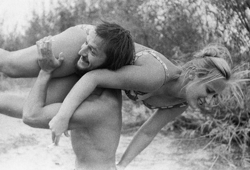 """фото """"Пляжные развлечения"""" метки: жанр, черно-белые,"""