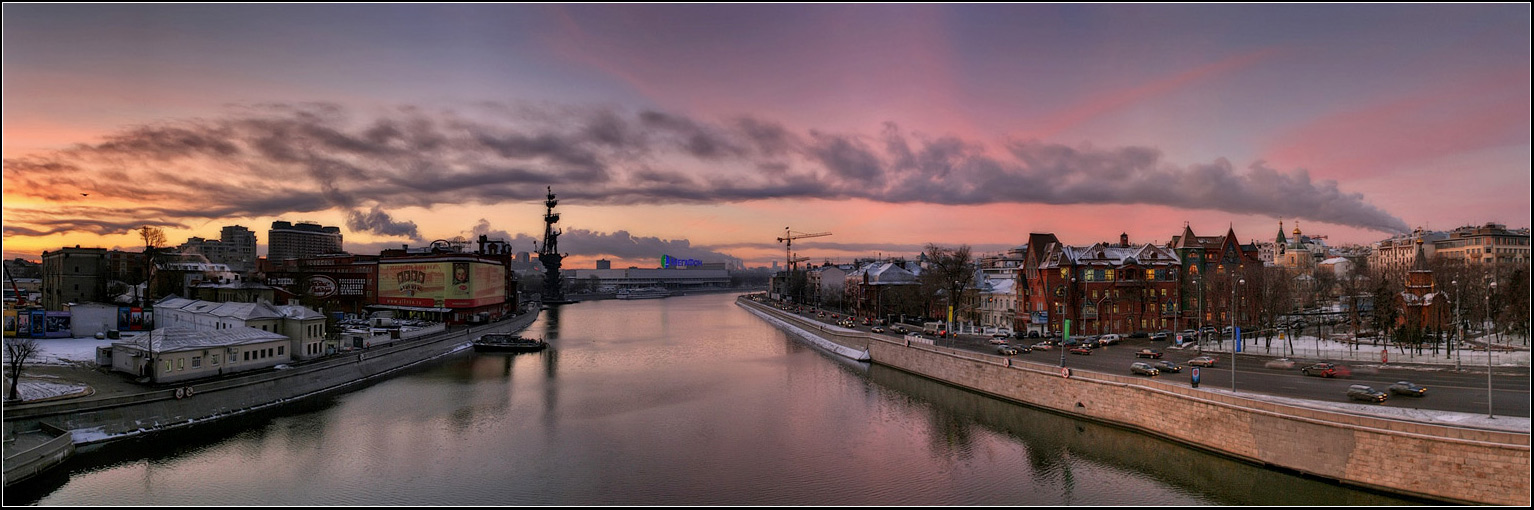 "photo ""How do clouds in Moscow"" tags: architecture, panoramic, landscape,"