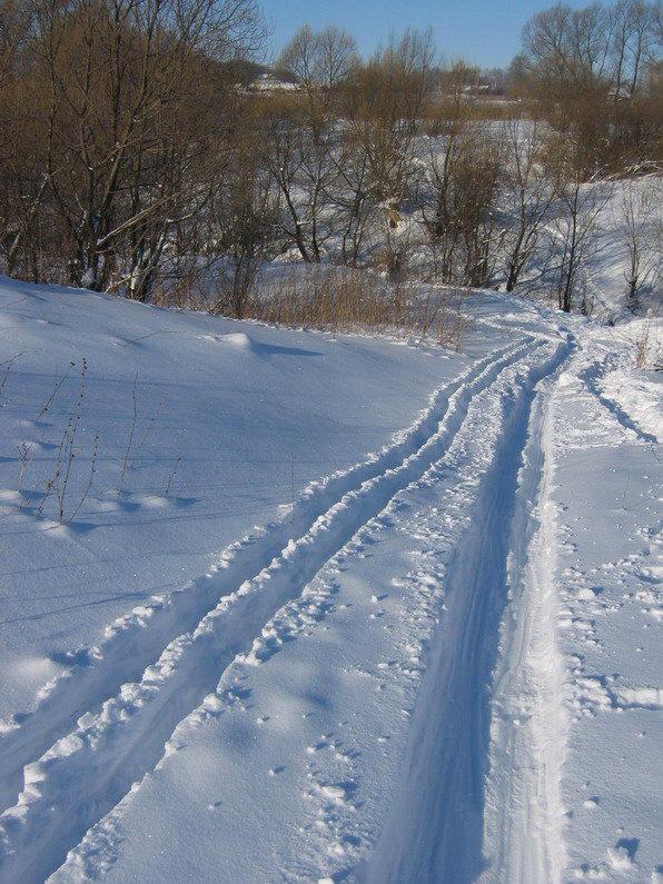 """фото """"C горки"""" метки: пейзаж, зима"""