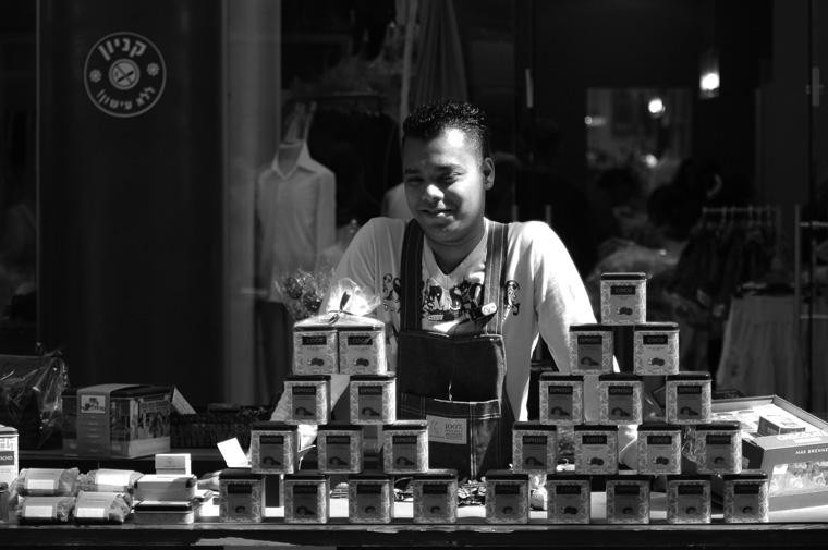 """photo """"Tea Seller"""" tags: genre,"""