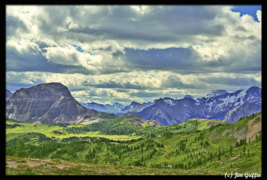 "photo ""Mt. Assiniboine comes into view?"" tags: landscape, travel, North America, mountains"