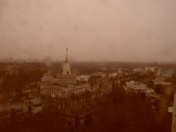 """фото """"Дождь в Москве"""" метки: пейзаж,"""