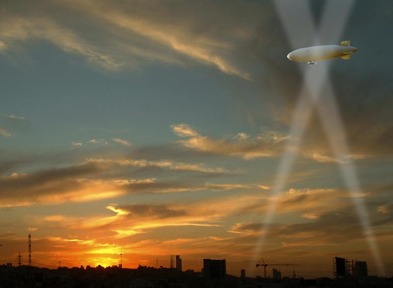 """фото """"Романтика воздухоплавания..."""" метки: пейзаж, техника, закат"""