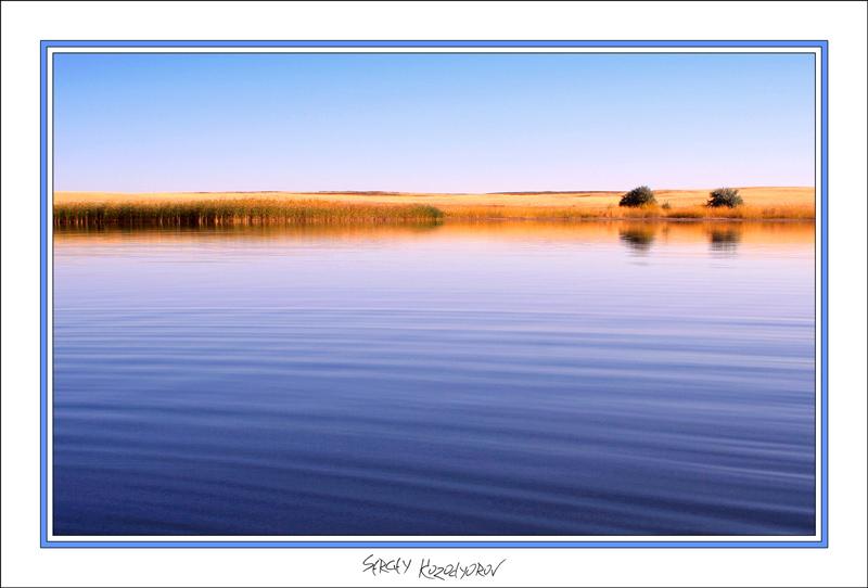"""фото """"Утро в заводи..."""" метки: пейзаж, вода, осень"""