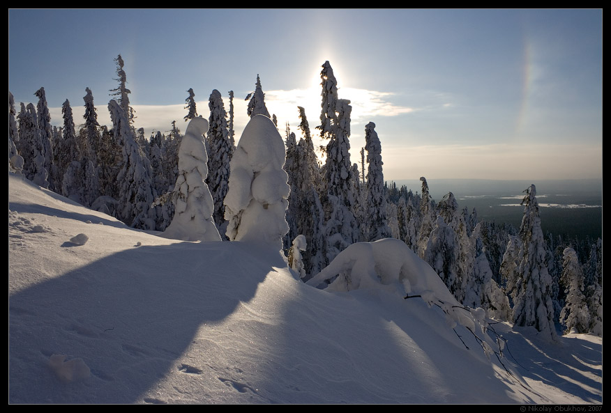 "photo ""Halo / 167_0095"" tags: landscape, mountains, winter"