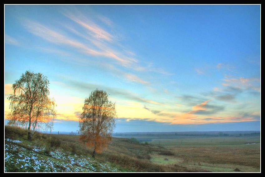 """фото """"Вечер на Родине"""" метки: пейзаж, осень"""