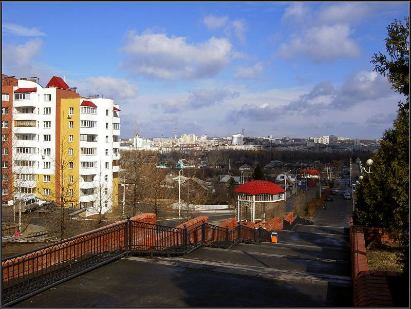 "photo ""Spring in Belgorod city"" tags: landscape, spring"