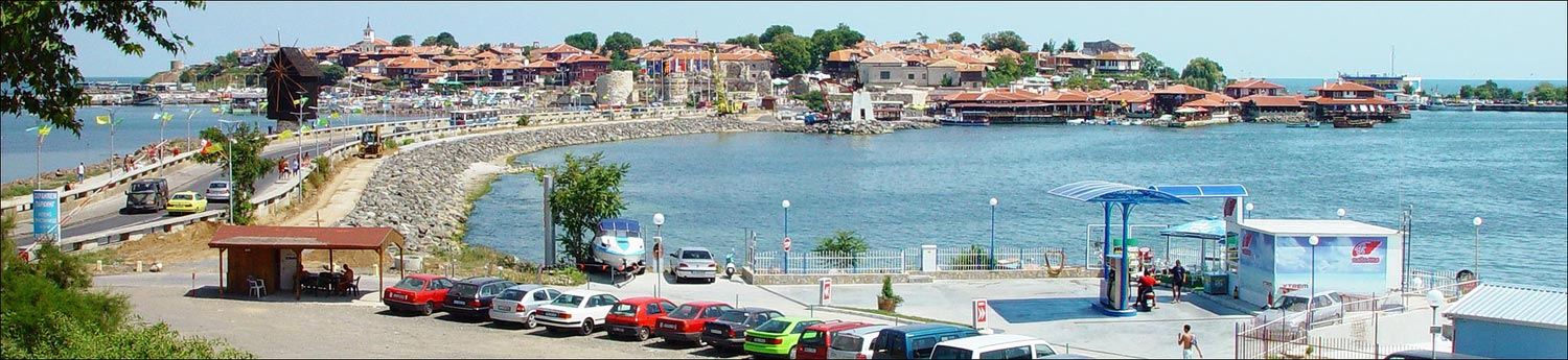 "photo ""The Old Town Nessebar, Bulgaria"" tags: panoramic, architecture, landscape,"