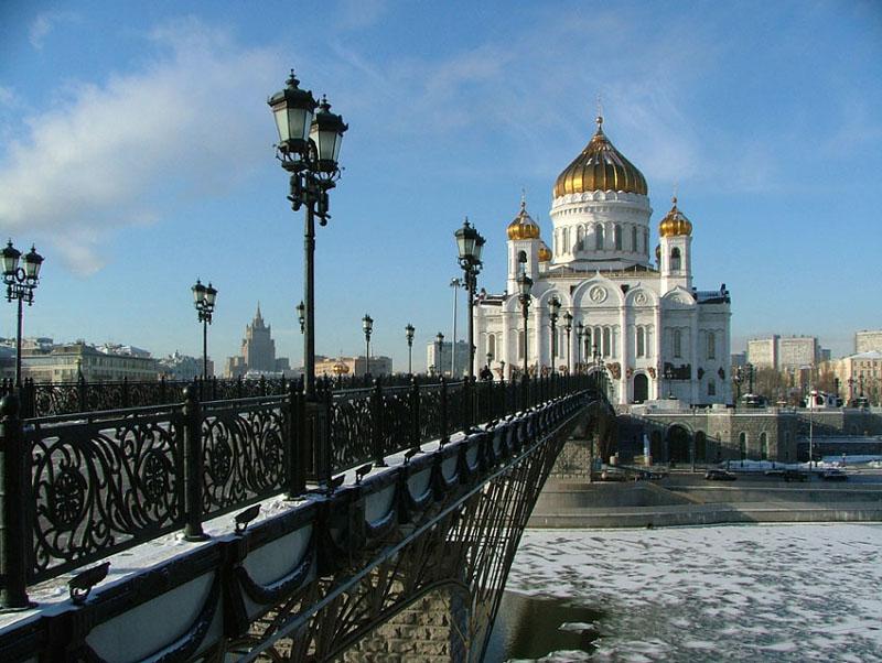 "фото ""мост к храму...."" метки: архитектура, пейзаж,"
