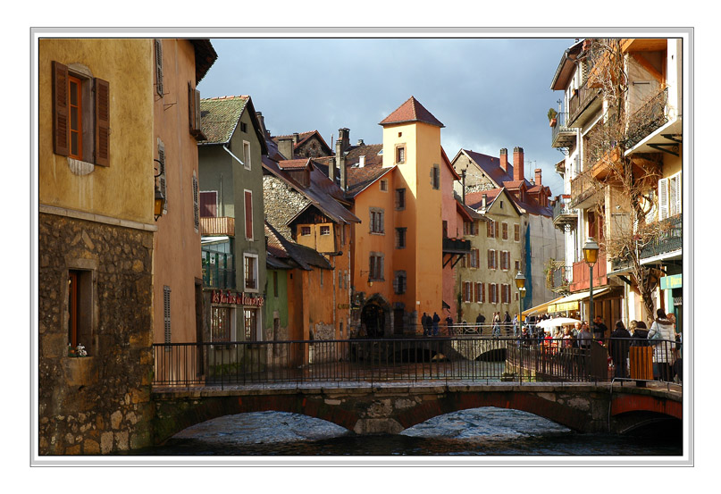 "photo ""Annecy The Old Town."" tags: architecture, landscape, water"