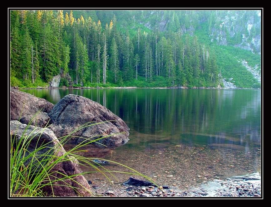 """фото """"Boardman Lake"""" метки: пейзаж, вода, лес"""