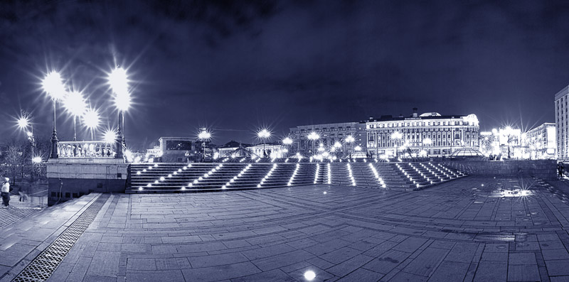 "photo ""Lights"" tags: architecture, panoramic, landscape,"