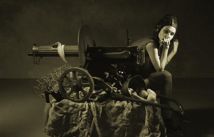 "photo ""Anka"" tags: portrait, black&white, woman"