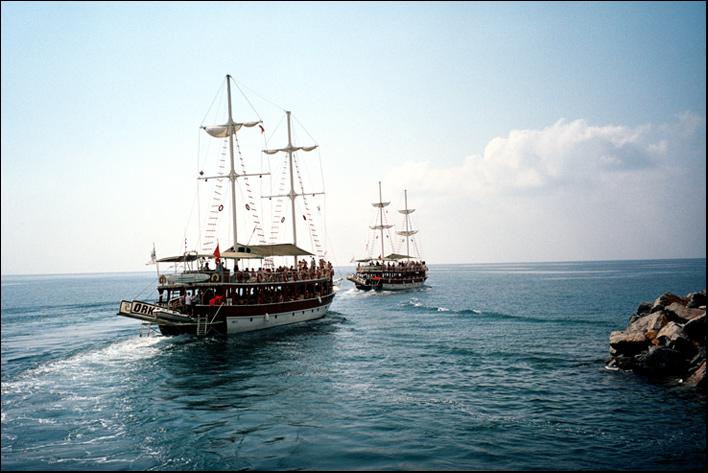 """фото """"Корабли уходят в море..."""" метки: жанр, пейзаж, вода"""