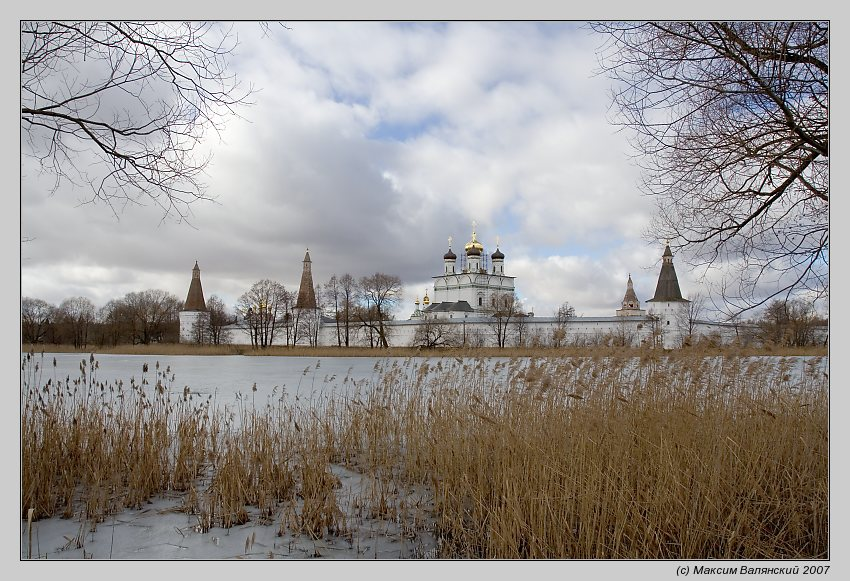 "photo ""Iosipho-Volotsky Monastery"" tags: architecture, landscape, spring"