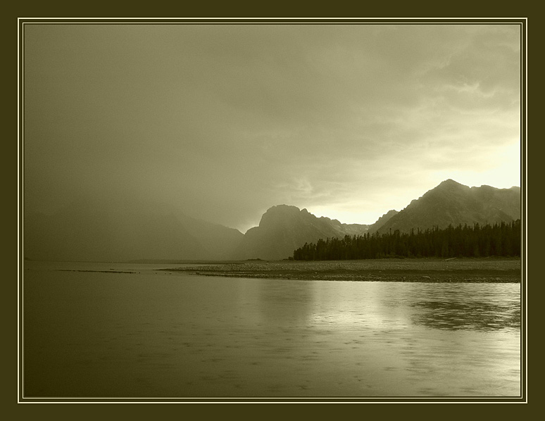 "photo ""Rain"" tags: landscape, mountains, water"