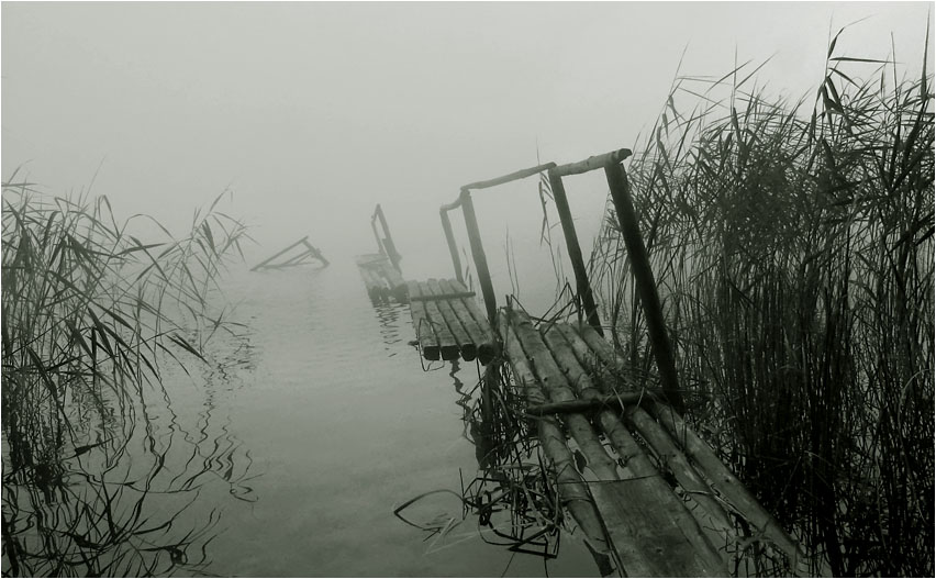 "photo ""melancholy"" tags: landscape, water"
