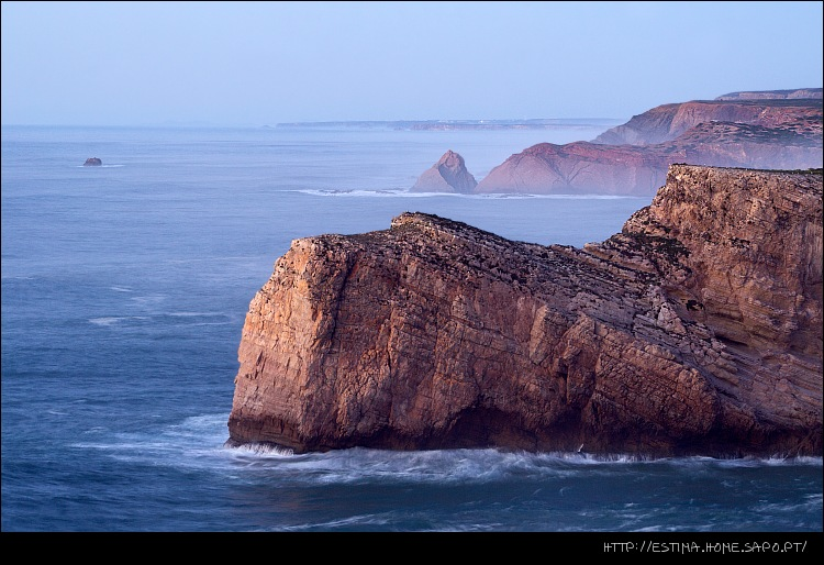 "photo ""View from the S. Vicente cape (Portugal)"" tags: landscape, sunset"